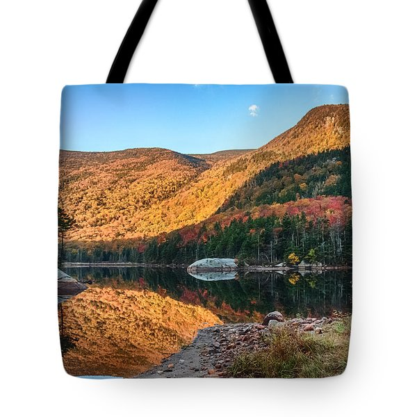 Dawn Over Kinsman Notch Tote Bag