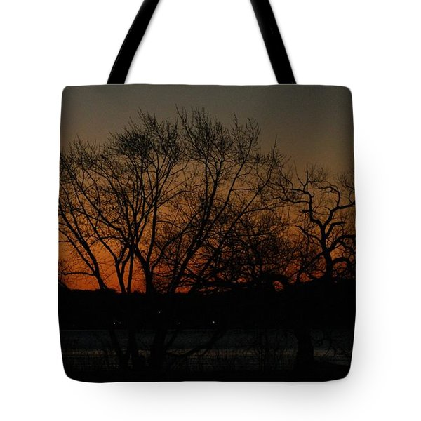 Dawns Early Light Tote Bag by Joe Faherty