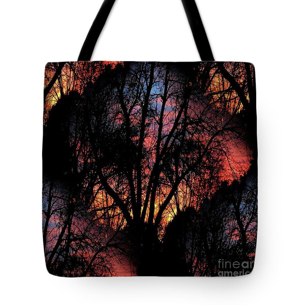 Tote Bag featuring the photograph Sunrise - Dawn's Early Light by Luther Fine Art