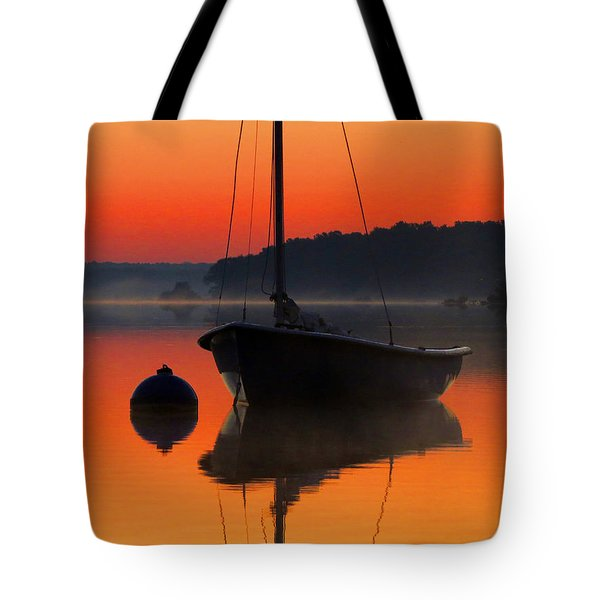 Tote Bag featuring the photograph Dawn's Light by Dianne Cowen