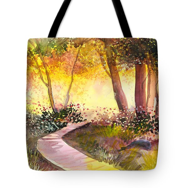 Day Break Tote Bag by Anil Nene