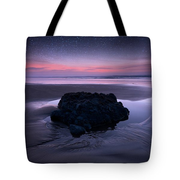 Day Fades To Night Tote Bag