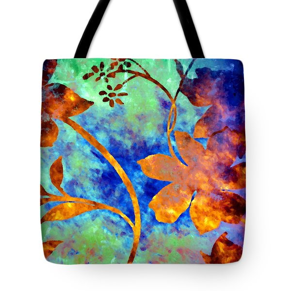 Day Glow Tote Bag by Darla Wood