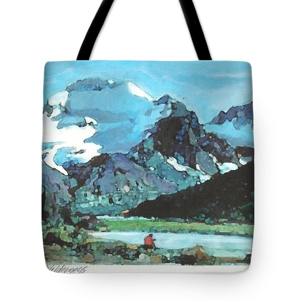 Day In The Wilderness Tote Bag by Joseph Barani