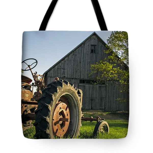 Day Is Done Tote Bag by Edward Fielding