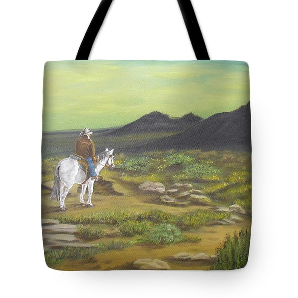 Day Is Done Tote Bag by Sheri Keith