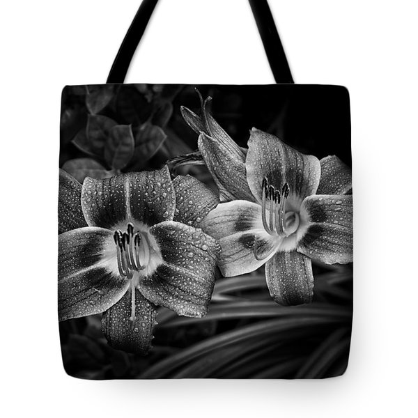 Tote Bag featuring the photograph Day Lilies Number 4 by Ben Shields