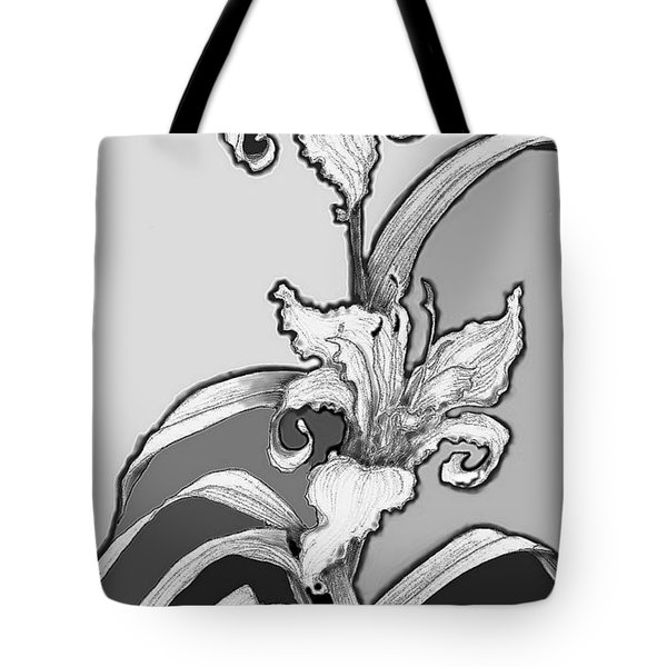 Tote Bag featuring the digital art Day Lillies by Carol Jacobs
