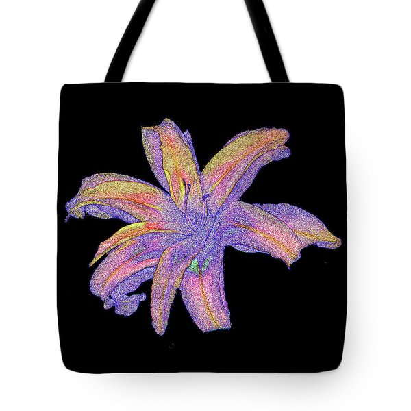Tote Bag featuring the photograph Day Lily #3 by Jim Whalen