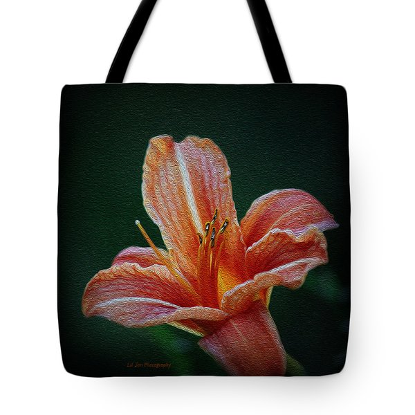 Day Lily Rapture Tote Bag