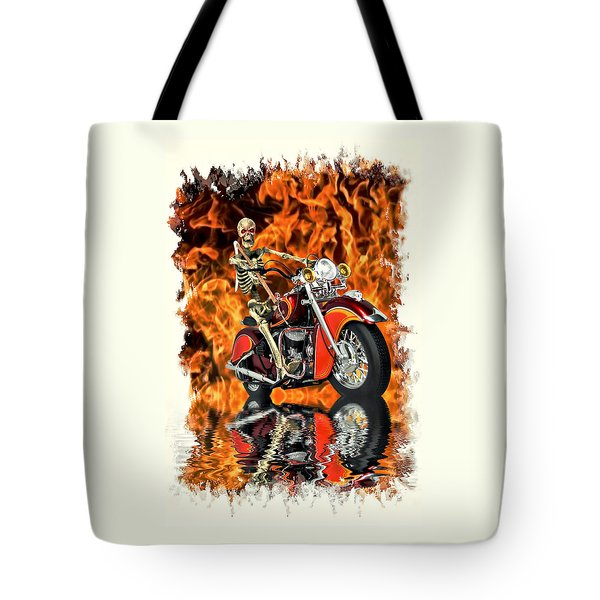 Day Of Reckoning Tote Bag by Steven Agius
