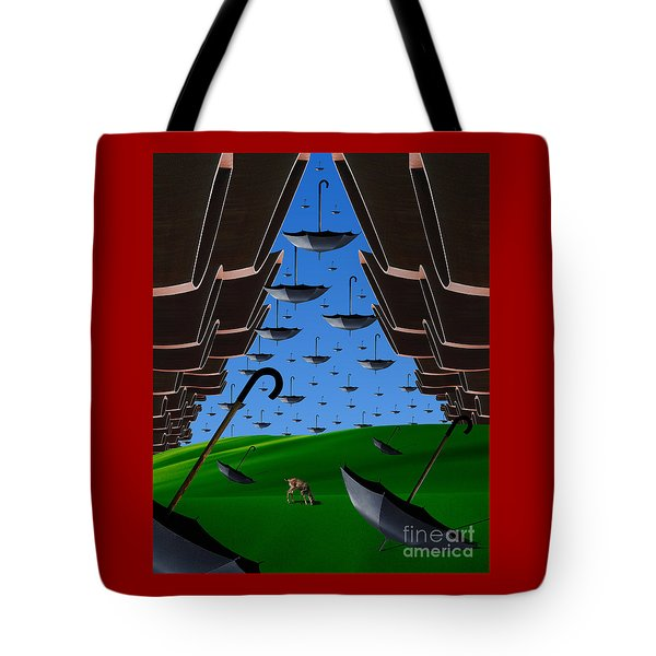 Day Of The Bumbershoots Tote Bag by Keith Dillon