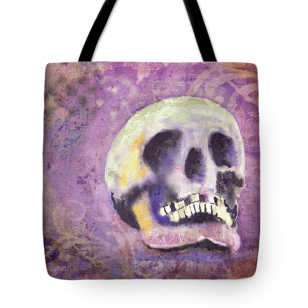 Tote Bag featuring the digital art Day Of The Dead by Arline Wagner
