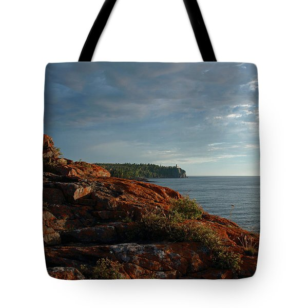 Tote Bag featuring the photograph Daybreak At Campsite 19 by James Peterson