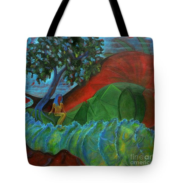 Uncertain Journey Tote Bag by Elizabeth Fontaine-Barr