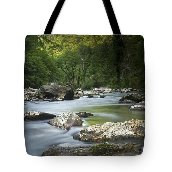 Daybreak In The Valley Tote Bag
