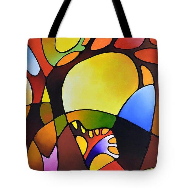 Daydream Canvas Three Tote Bag