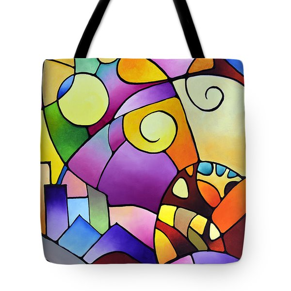 Daydream Canvas Two Tote Bag