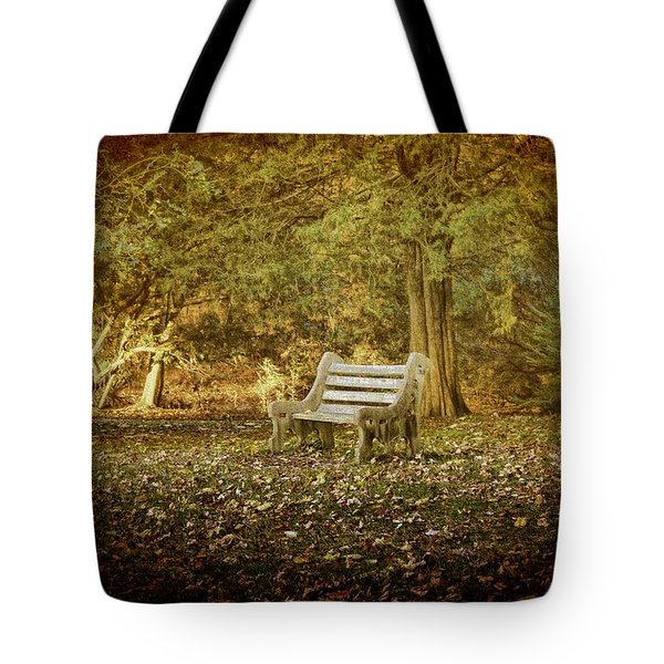 Daydreamer's Bench Tote Bag