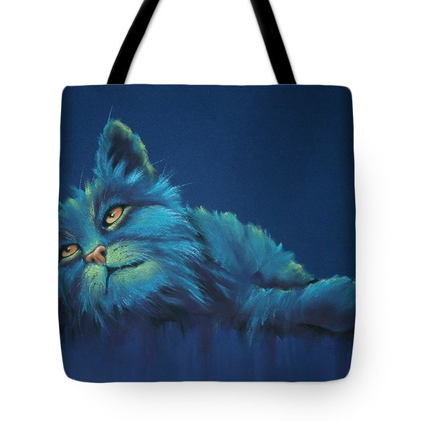 Tote Bag featuring the drawing Daydreams by Cynthia House