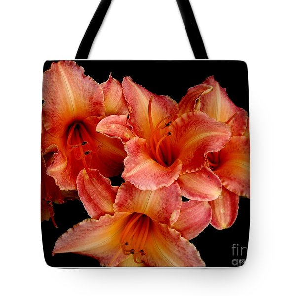 Tote Bag featuring the photograph Daylilies 1 by Rose Santuci-Sofranko