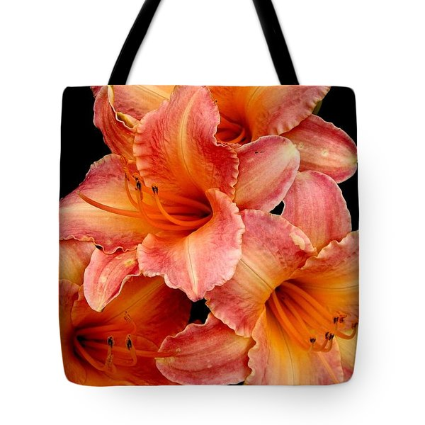 Tote Bag featuring the photograph Daylilies 2 by Rose Santuci-Sofranko