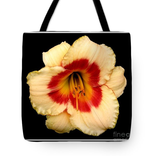 Tote Bag featuring the photograph Daylily 3 by Rose Santuci-Sofranko