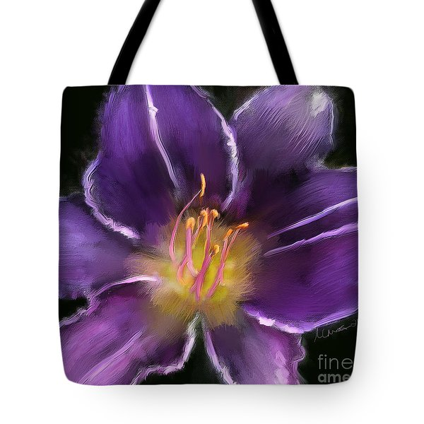 Daylily Tote Bag