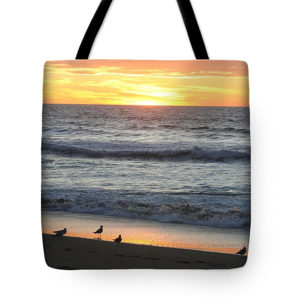 Days End Tote Bag by Art Block Collections