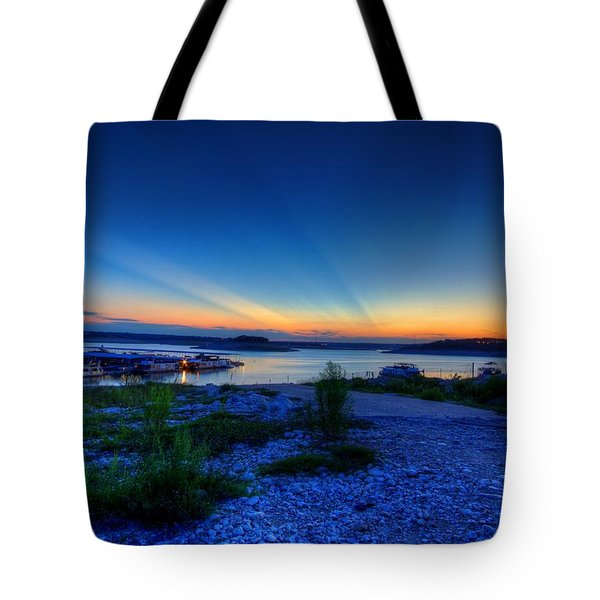 Days End Tote Bag by Dave Files