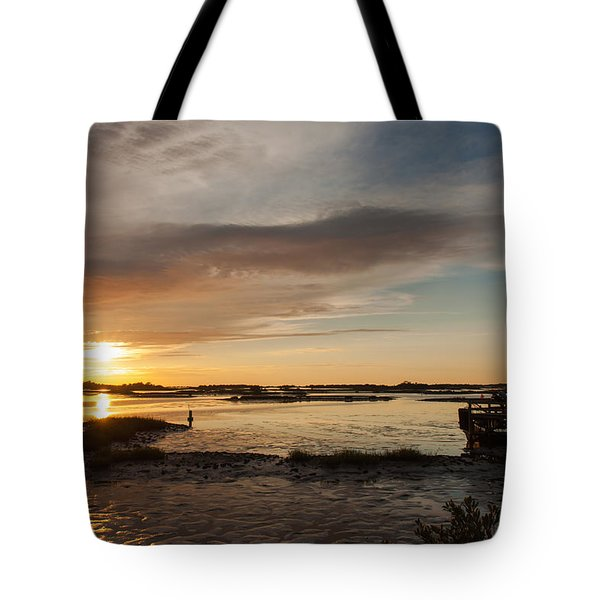 Days End Tote Bag by John M Bailey
