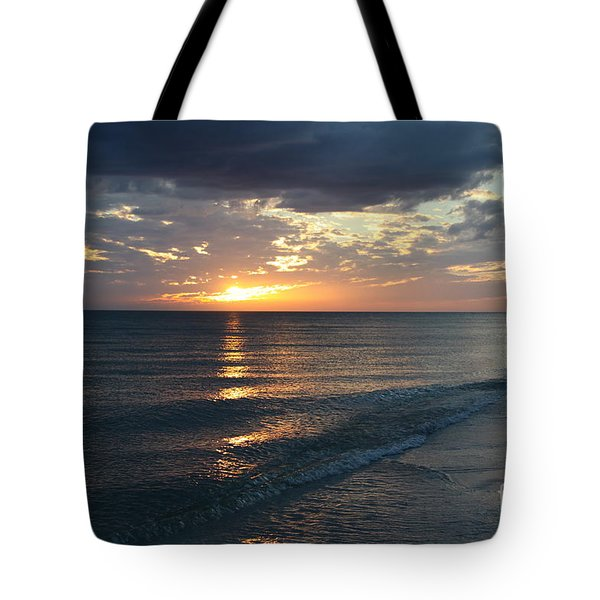 Days End Over Sanibel Island Tote Bag