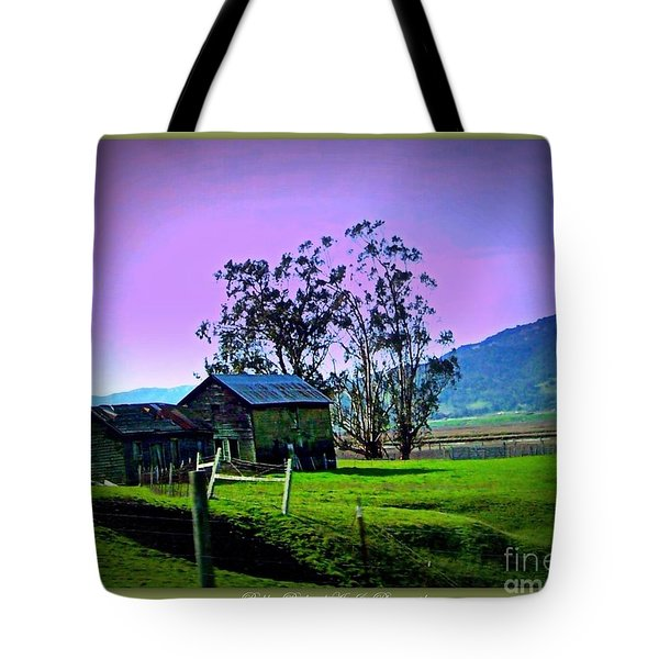Tote Bag featuring the photograph Days Gone By by Bobbee Rickard
