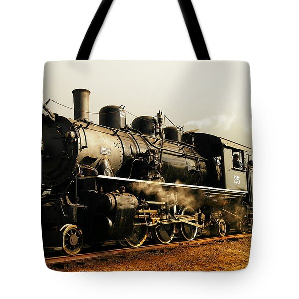 Days Of Steam And Steel Tote Bag by Jeff Swan