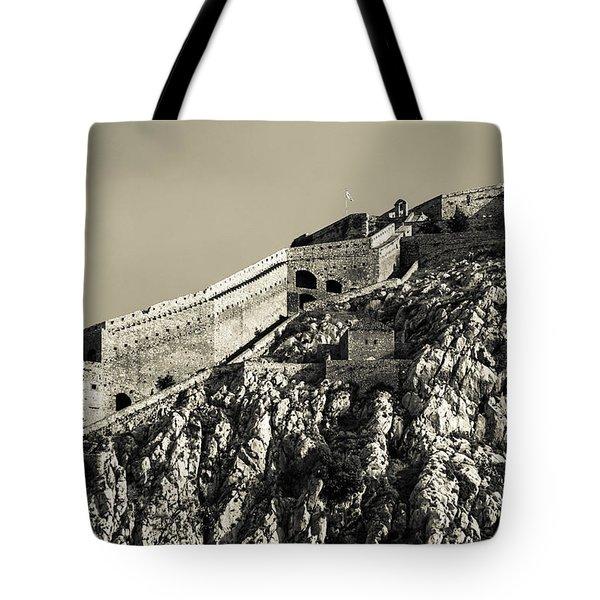 Daytime Palamidi Fortress  Tote Bag
