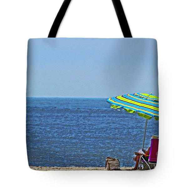 Daytime Relaxation Tote Bag