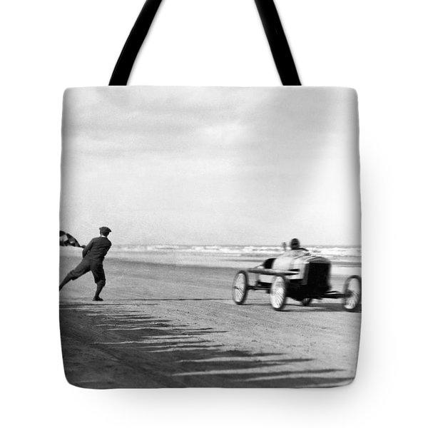 Daytona Beach New Year's Races Tote Bag
