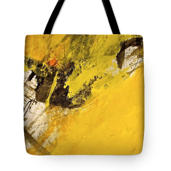 Tote Bag featuring the painting Dazed Days Of Purple Haze by Cliff Spohn