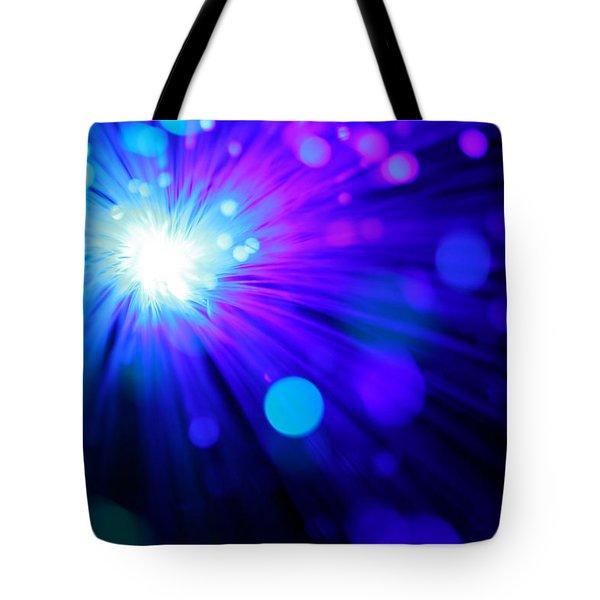 Dazzling Blue Tote Bag
