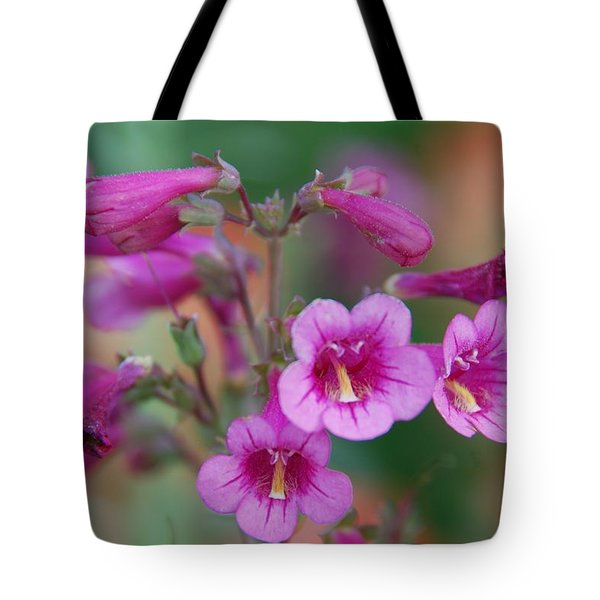 Tote Bag featuring the photograph Pink Flowers by Tam Ryan