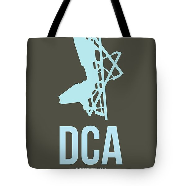 Dca Washington Airport Poster 1 Tote Bag by Naxart Studio