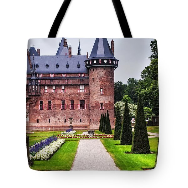 De Haar Castle 2. Utrecht. Netherlands Tote Bag by Jenny Rainbow
