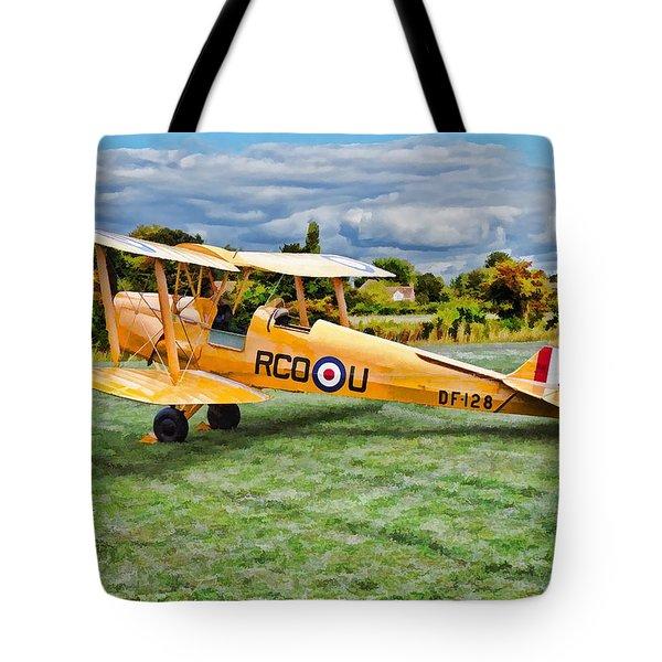 De Havilland Dh82 Tiger Moth Tote Bag
