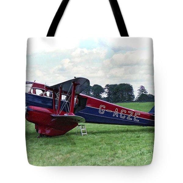 De Havilland Dragon Rapide Tote Bag