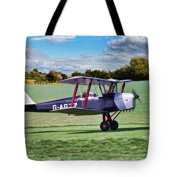 De Havilland Tiger Moth 2 Tote Bag