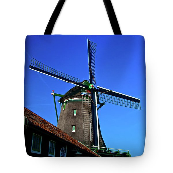 De Zoeker Blue Skies Tote Bag by Jonah  Anderson