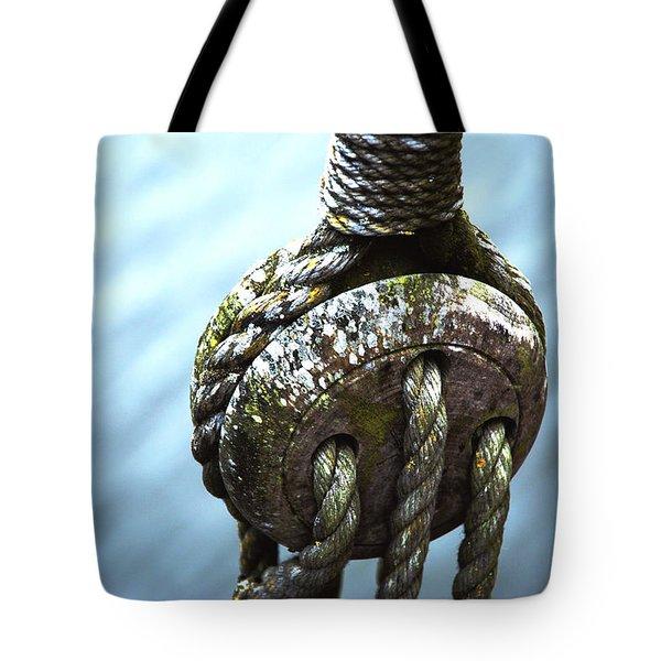 Dead Eye - Nautical Art  Tote Bag by Charlie Brock
