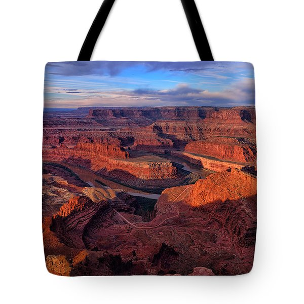 Dead Horse Point Sunrise Tote Bag