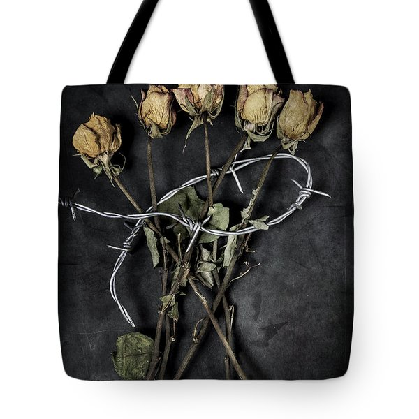 Dead Roses Tote Bag by Joana Kruse