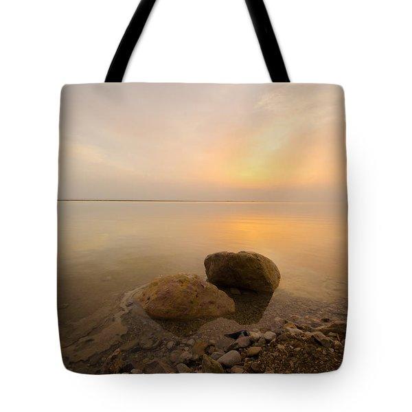 Dead Sea Sunrise Tote Bag